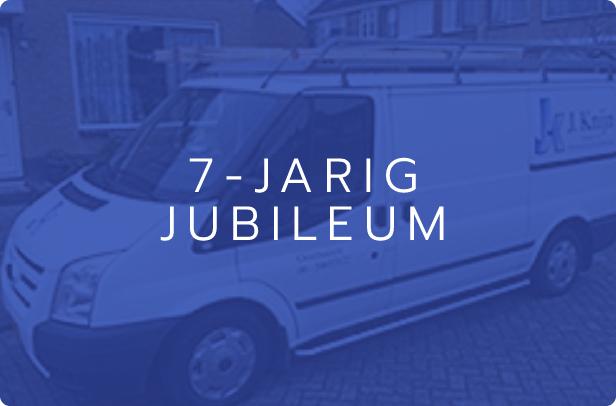 7-jarig-jubileum